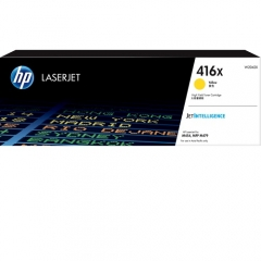 HP 416X 原裝高容量碳粉 W2042X YELLOW(6K)