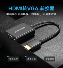 Hdmi To Vga 轉換器 (適用於投影機連接電腦)