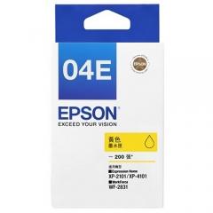 EPSON T04E 原裝墨盒 C13T04E483 黃色200頁