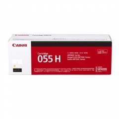 Canon Cartridge 055 原裝碳粉 055HY 黃色高容量 5.9K