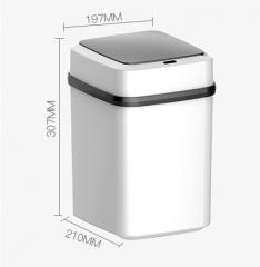 AutoMax 智能感應垃圾桶 #116169 黑配白 10L
