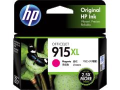 HP 915XL 原裝高容量墨盒 915XL Magenta 825頁