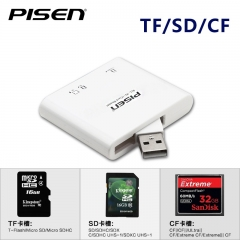 Pisen 三一讀卡器Card Reader (Mirco SD, SD, CF)