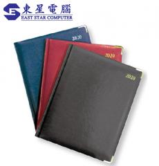 大行政策劃日記簿 Diary 金邊金角絲帶 YD-610 1週2頁 共160頁