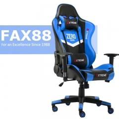 特價 FAX88 Zero系列 L9600 跑車椅 電競椅 (送頭枕 腰墊) 藍黑色