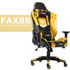 特價 FAX88 Zero系列 L9600 跑車椅 電競椅 (送頭枕 腰墊) 黄黑色