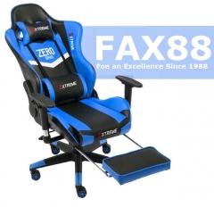 A100 Zero系列 電競椅 電腦椅 辦公椅 書房椅 游戲椅 L9800藍黑升降旋轉扶手+擱腳