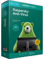 Kaspersky Anti-Virus 5 PC 3 YR (續期戶)