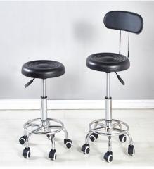 迷理慳位型 電腦椅/辦公椅 (圓座面直徑33cm / 椅腳直徑42cm) 黑色 椅背款