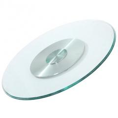 鋁合金底座 餐桌玻璃轉盤 160mm直徑