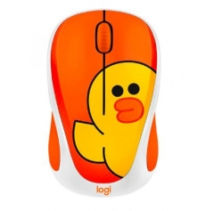 Logitech Line Friends Mouse 無線滑鼠 Sally無線滑鼠