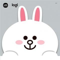 Logitech Line Friends Mouse 無線滑鼠 Cony 滑鼠墊