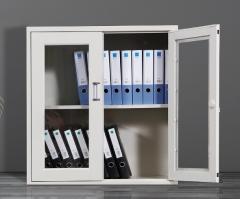 辦公室矮櫃 鋼櫃 文件櫃 組合櫃 拉門矮櫃(有窗)