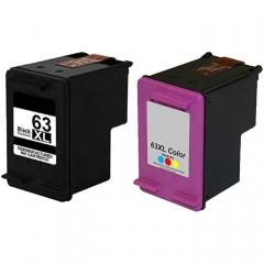 FAX88 HP 63XL 代用墨水 63XL C 彩色 F6U63AA