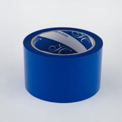 2.5寸 特大卷裝顏色封箱膠紙 顏色PP膠紙 藍色