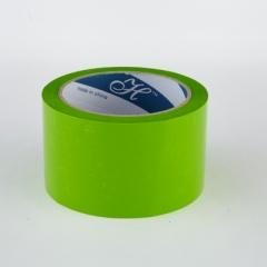 2.5寸 特大卷裝顏色封箱膠紙 顏色PP膠紙 浅綠色