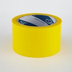 2.5寸 特大卷裝顏色封箱膠紙 顏色PP膠紙 黄色
