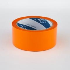 2.5寸 特大卷裝顏色封箱膠紙 顏色PP膠紙 橙色