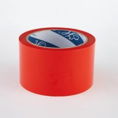 2.5寸 特大卷裝顏色封箱膠紙 顏色PP膠紙 紅色