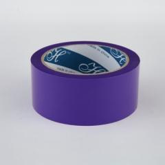 2.5寸 特大卷裝顏色封箱膠紙 顏色PP膠紙 紫色