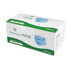 DPM 3層成人口罩  3Ply Mask CE認證 粉紅色50個裝