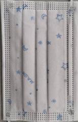 JP 3層中童口罩 3Ply 50個裝 藍色限量版Q款