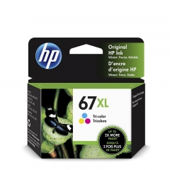 HP (67)(67XL)原裝墨盒 3YM58AA 67XL COLOR