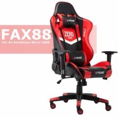 FAX88 Zero系列 L9600 跑車椅 電競椅 (送頭枕 腰墊) 紅配黑 標配免安裝