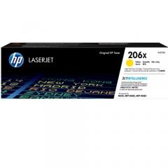 HP 206A 206X 原裝碳粉 W2112X 黄色2.45K