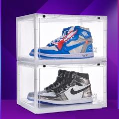 ShoeBox 防氧化鞋盒 鞋柜  36x28cmx22cm自由組合 透明 1個組合