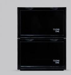 ShoeBox 防氧化鞋盒 鞋柜  36x28cmx22cm自由組合 黑色 1個組合