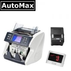 AutoMax 智能 數鈔機 驗鈔機 功能 全齊 AMD880主機+顯示屏+打印機