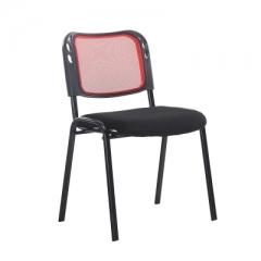 會議椅 培訓椅  折叠椅 會議室椅 紅色 1張