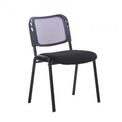 會議椅 培訓椅  折叠椅 會議室椅 藍色 1張