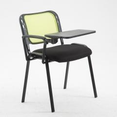 會議椅 培訓椅  折叠椅 會議室椅 綠色+寫字板 1張