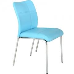 時尚 簡約 餐桌椅 會議椅 藍色 1張