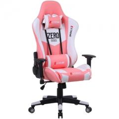 特價 FAX88 Zero系列 L9600 跑車椅 電競椅 (送頭枕 腰墊) 粉紅白色