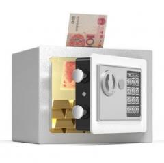 FAX88 安全夾萬 17x23x17cm 灰白色入幣款