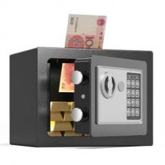 FAX88 安全夾萬 17x23x17cm 尊貴黑入幣款