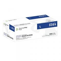 PremierPro Plus Nitrile 506 Series 醫用手套(藍色無粉) 5064