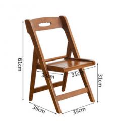 竹椅 摺椅 可摺式 摺疊式 原色 大號