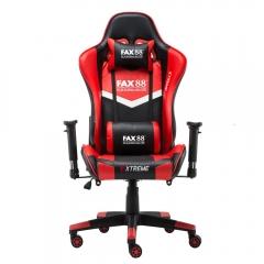 FAX88 Zero系列 L9600 跑車椅 電競椅 (送頭枕 腰墊) 紅配黑 L9600標配