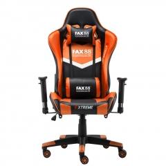 FAX88 Zero系列 L9600 跑車椅 電競椅 (送頭枕 腰墊) 橙配黑 L9600標配