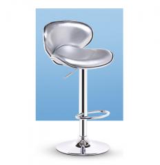 FAX88 歐式吧椅 BH8168 高款銀色