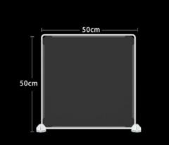 防飛沫擋板 學校 幼稚園 飯堂 50x50cm 透明