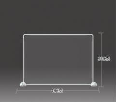 防飛沫擋板 學校 幼稚園 飯堂 35x46cm 透明