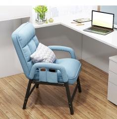 FAX88 SFC115  休閑辦公椅 折叠沙發椅 電腦椅 藍色可躺