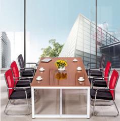 會議桌 會議枱 長枱 高度74cm 180x80cm 柚木色