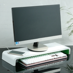 FAX88 顯示屏支架 鍵盤墊高支架 全白 1個