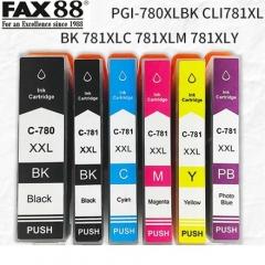 FAX88 PGI780XL CLI781XL 代用墨盒 CLI-781XL PB